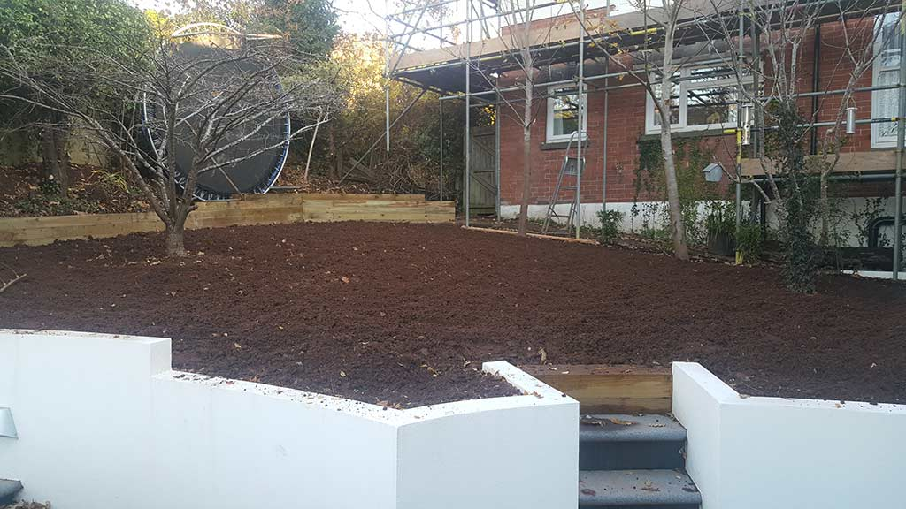 Turfing Work Example - Before